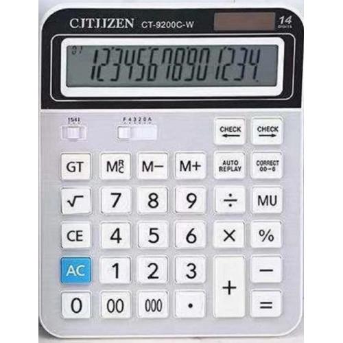 калькулятор CT-9200C-W