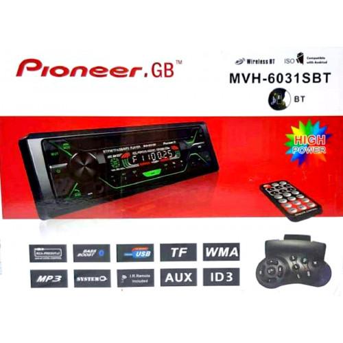 автомагнитола+Bluetooth+USB+AUX+Радио MVH-6031SBT