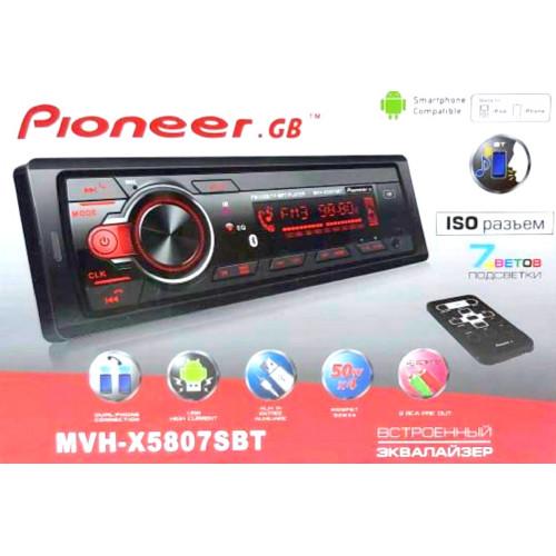 автомагнитола+Bluetooth+USB+AUX+Радио MVH-X5807SBT