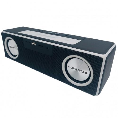 колонка HOPESTAR A5 SE+Bluetooth+USB+SD+радио+4 динамика+аккумулятор+Power Bank+беспроводная зарядка (оригинал)