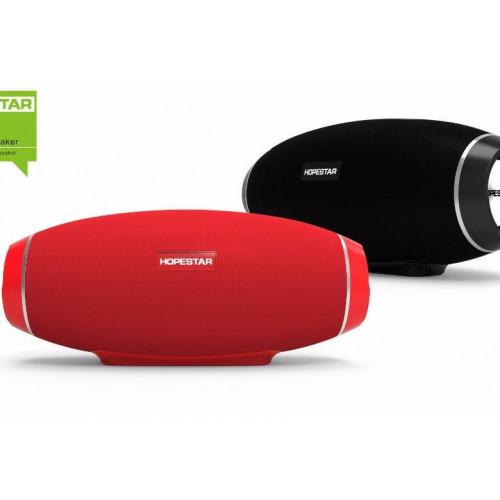 колонка HOPESTAR H20+Bluetooth+USB+SD+радио+4 динамика+аккумулятор+Power Bank+беспроводная зарядка (оригинал)