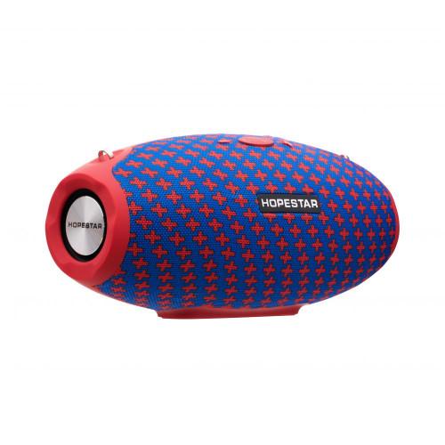 колонка HOPESTAR H25+Bluetooth+USB+SD+радио+4 динамика+аккумулятор+Power Bank+беспроводная зарядка (оригинал)