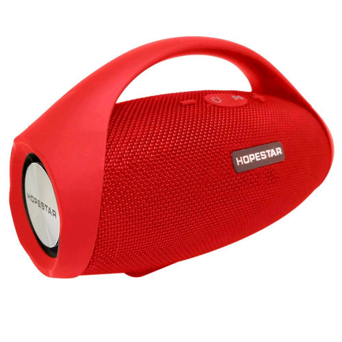 колонка HOPESTAR H32+Bluetooth+USB+SD+радио+4 динамика+аккумулятор+Power Bank (оригинал)