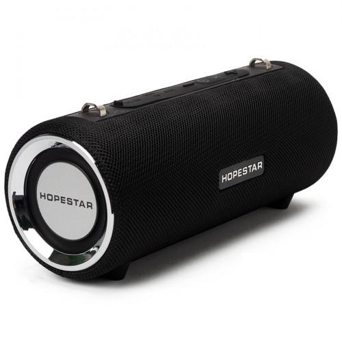 колонка HOPESTAR H39+Bluetooth+USB+SD+радио+4 динамика+аккумулятор+Power Bank (оригинал)