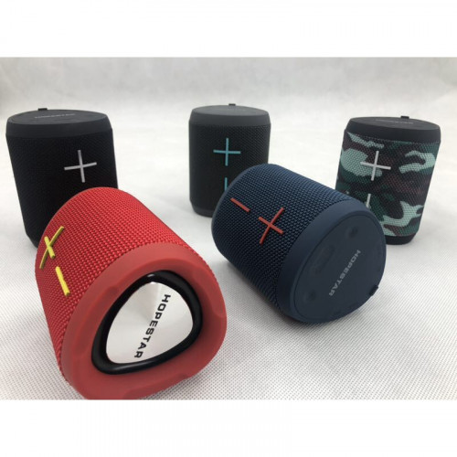 колонка HOPESTAR P14+Bluetooth+USB+SD+радио+4 динамика+аккумулятор+Power Bank (оригинал)