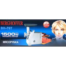 мясорубка электрическая BERGHOFFER с обратным реверсом, мощность 1500w BH-797