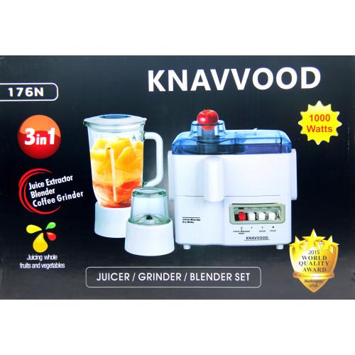 многофункциональный кухонный комбайн 176N 4в1, соковыжималка, блендер, гриндер измельчитель