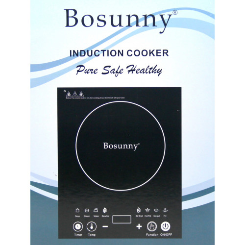 настольная индукционная плитка с дисплеем Bosunny