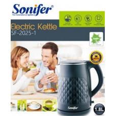 чайник электрический Sonifer, объем 1.8л, мощность 1500w SF-2025-1