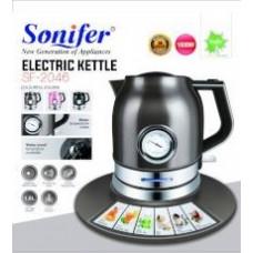 чайник электрический Sonifer с термометром, объем 1.8л, мощность 1500w SF-2046