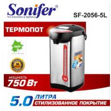 чайник-термос (термопот) Sonifer, 2 способа подачи воды, мощность 750w, объем 5.0л SF-2056-5L