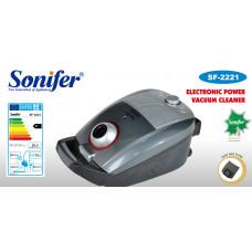 пылесос Sonifer, вместимость контейнера для пыли 3.5л, мощность 2600w, контр.скорость SF-2221