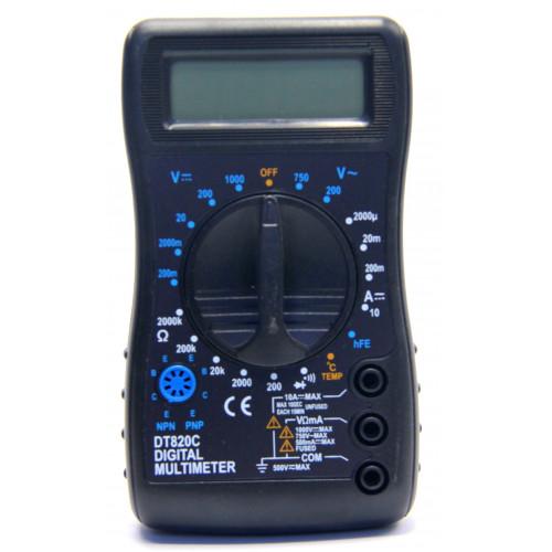 мультиметр DT-820C