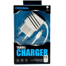 сетевое зарядное устройство для Samsung (micro) 1A (MM-12830-12)