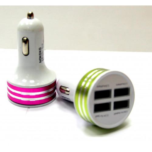 авто зарядка 4 USB, 6.8A MM-17830-24
