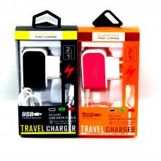 сетевое зарядное устройство для Samsung (micro) 3 USB вход (MM-12830-19)