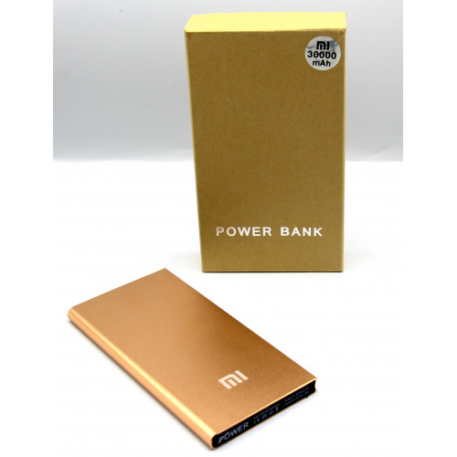 зарядка портативная Power Bank 2USB Xiaomi  MI 30000 mAh