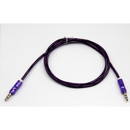 кабель aux  в оплетки дорогой
