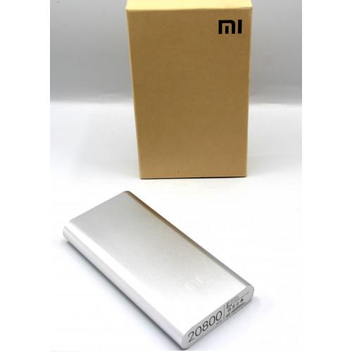 зарядка портативная Power Bank+2USB Xiaomi  MI 20800 mAh