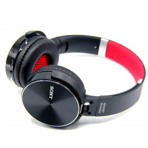 наушники беспроводные Sony XB-550BT+SD плеер+мик+радио+Bluetooth