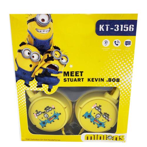 детские проводные наушники KTS-3156 Миньон