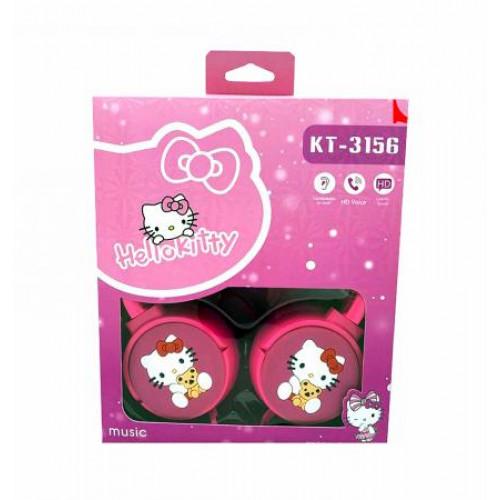 детские проводные наушники KTS-3156 Hello Kitty