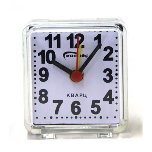 часы космос+будильник 1013