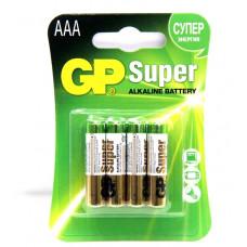 батарейки GP ULTRA R03 BL4 (4x10=40) ALKALINE