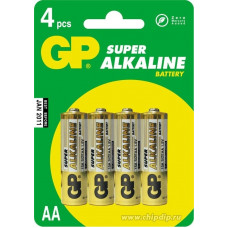 батарейки GP ULTRA R06 BL4 (4x10=40) ALKALINE