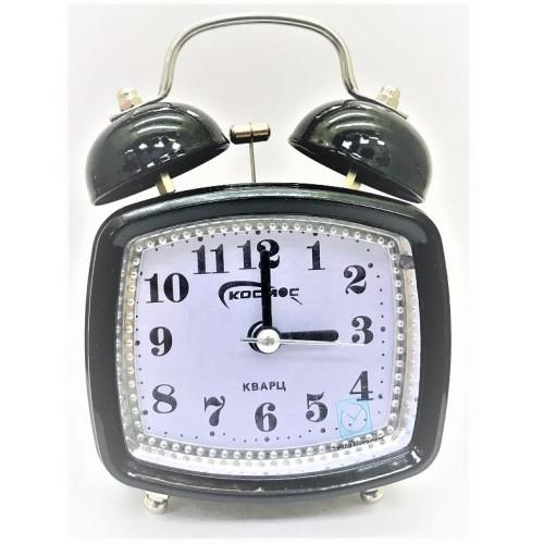 часы космос+будильник+механические 704