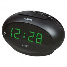 часы настольные VST-711/4 (ярко-зеленый)