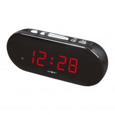 часы настольные VST-715/1 (красный)