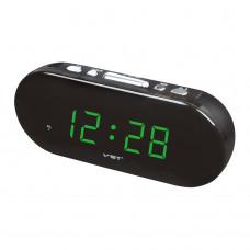 часы настольные VST-715/4 (ярко-зеленый)