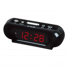 часы настольные VST-716/1 (красный)