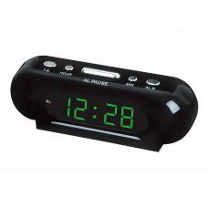 часы настольные VST-716/4 (ярко-зеленый)
