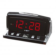 часы настольные VST-718/1 (красный)