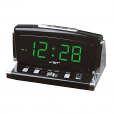 часы настольные VST-718/4 (ярко-зеленый)