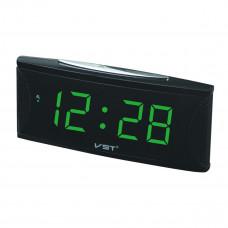часы настольные VST-719/4 (ярко-зеленый)