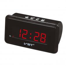 часы настольные VST-728/1 (красный)