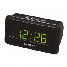 часы настольные VST-728/4 (ярко-зеленый)