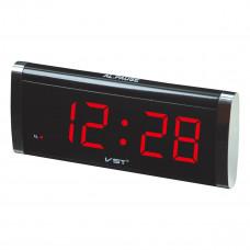 часы настольные VST-730/1 (красный)