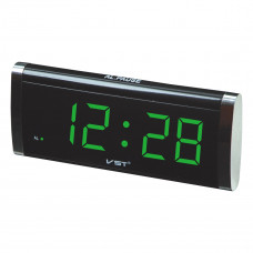 часы настольные VST-730/4 (ярко-зеленый)