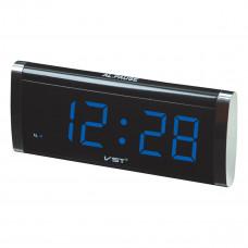 часы настольные VST-730/5 (ярко-синий)