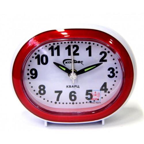 часы космос+будильник+подсветка 765