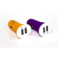 авто зарядка 2 USB, 2A (A13) (матовый)