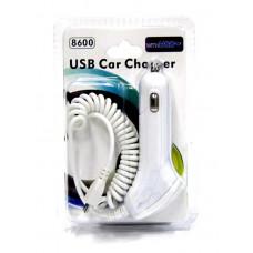 зарядка спираль от прикуривателя для Микро+USB AT-5003