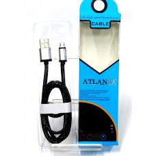 кабель Micro металлический (кожа змеи) ATLANFA AT-5013