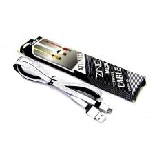 кабель Micro металлический (в сантиметрах) ATLANFA AT-701V
