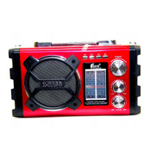 колонка EPE FP-1761WS+светомузыка+USB+SD+радио+мик+солнечная зарядка