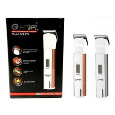 машинка для стрижки волос+съемный аккумулятор Gemei GM-698
